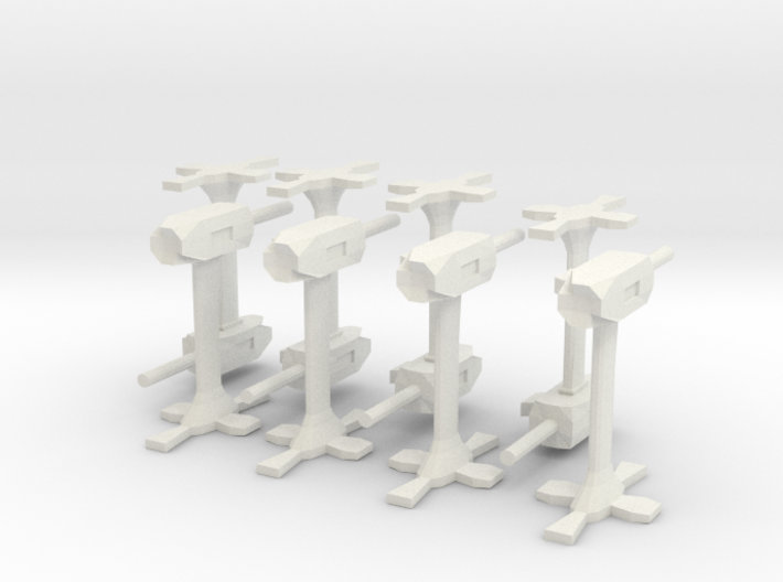 Base defence guns 3d printed