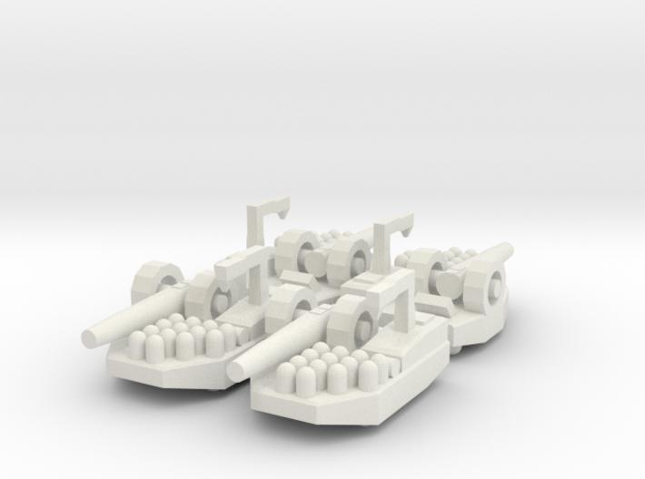 1 Artillery x4 3d printed