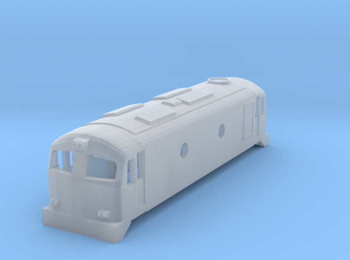 CIE Class C201 N scale 3d printed
