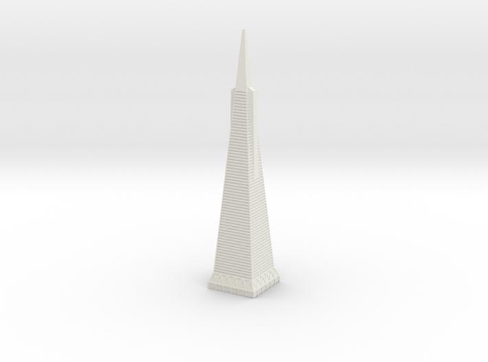 Transamerica Pyramid 3d printed