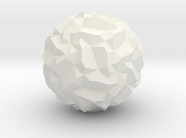 Stellated Pentagonal Hexecontahedron 3d printed
