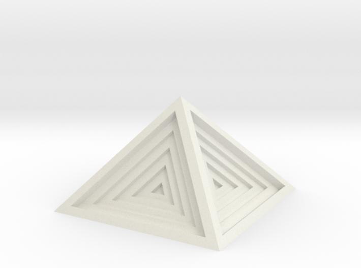 Pyramid 3d printed