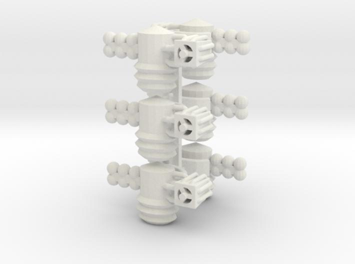 8 Satellite Type 3 x6 3d printed