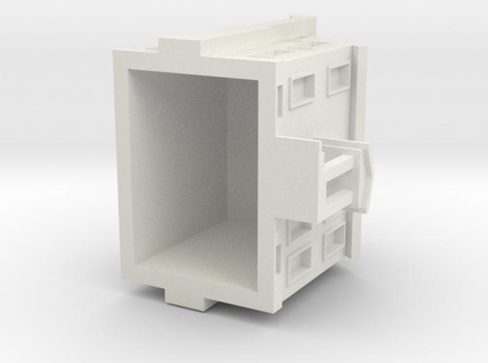 Telfair House 3d printed