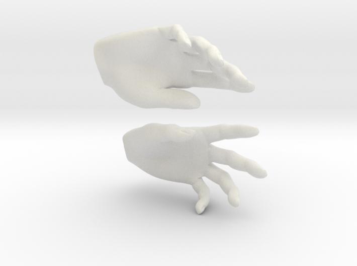 Hands 3d printed