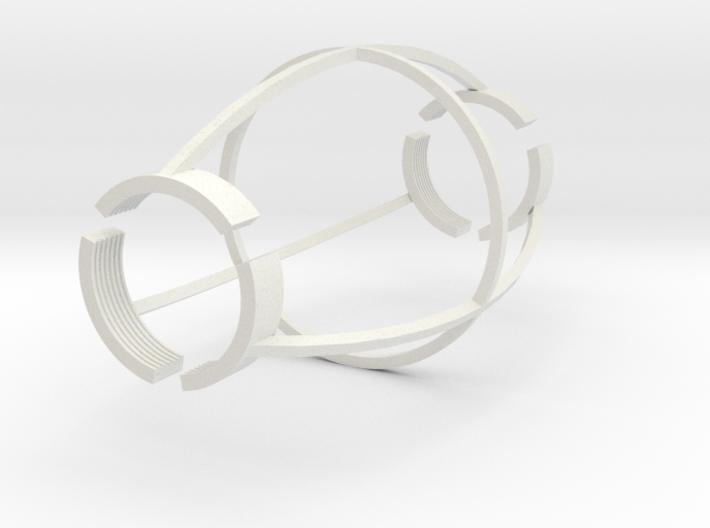 Finger Cuffs 3d printed