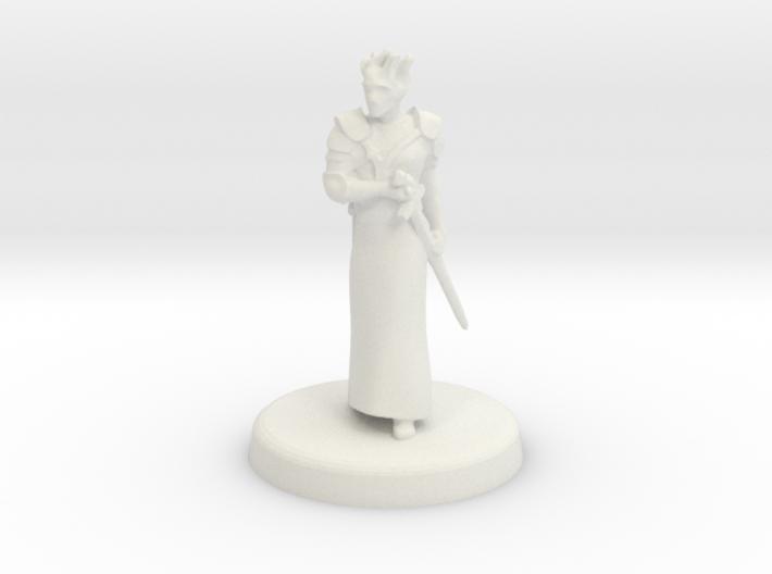 Fugue (Genasi swordmage) 3d printed