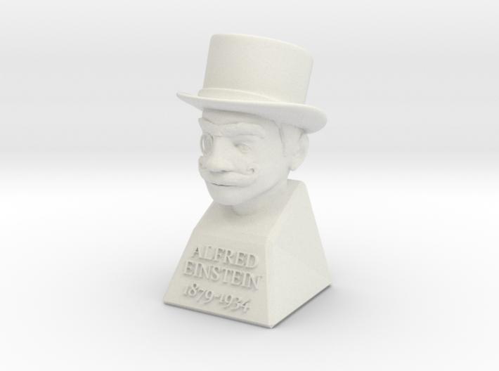 Alfred Einstein 3d printed