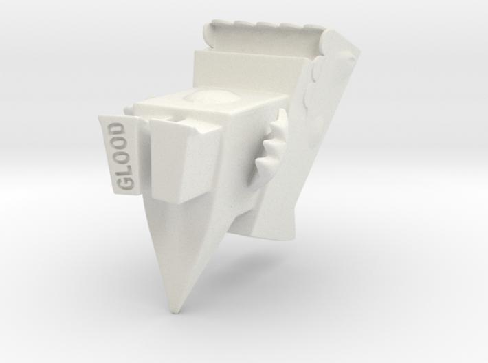 Cutzilla mid-size 3d printed