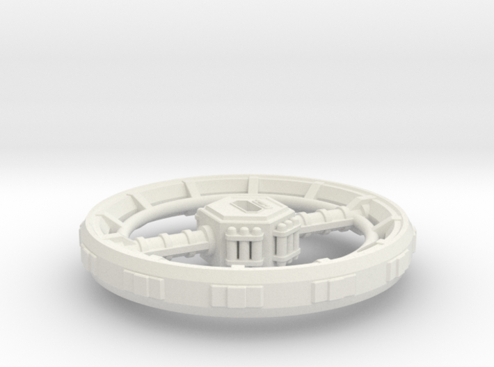 Orbital Ring City 3d printed