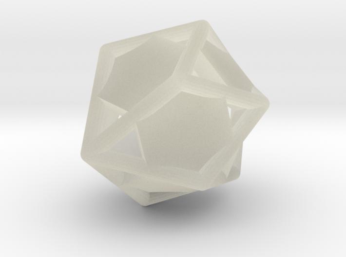 d10 gyro blank 3d printed