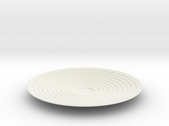 Saucer 3d printed