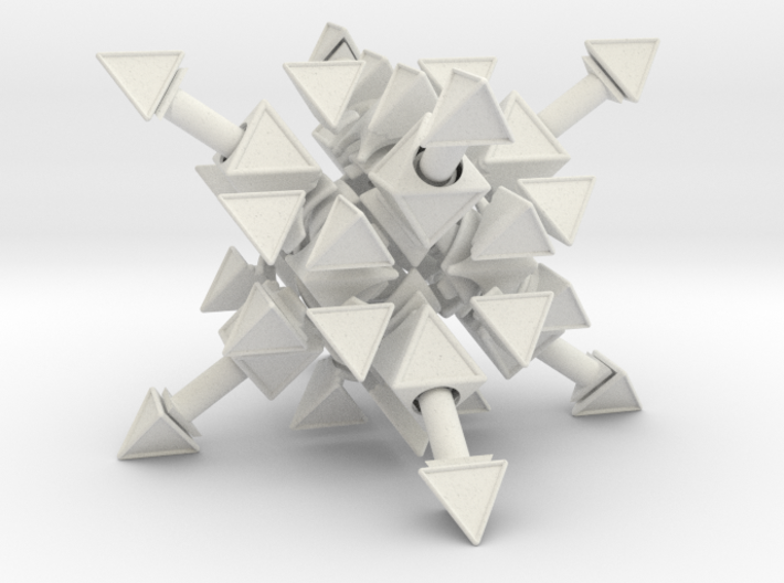 Tetrahedral Twins 3d printed