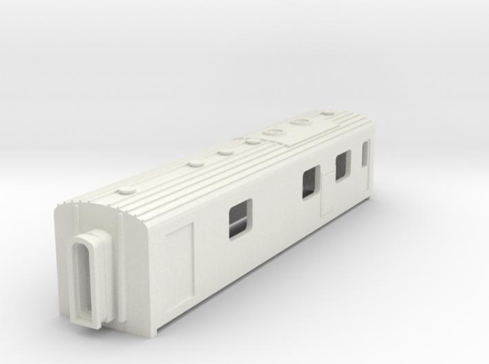 N Scale Werkspoor Dundalk Gen Van 3d printed