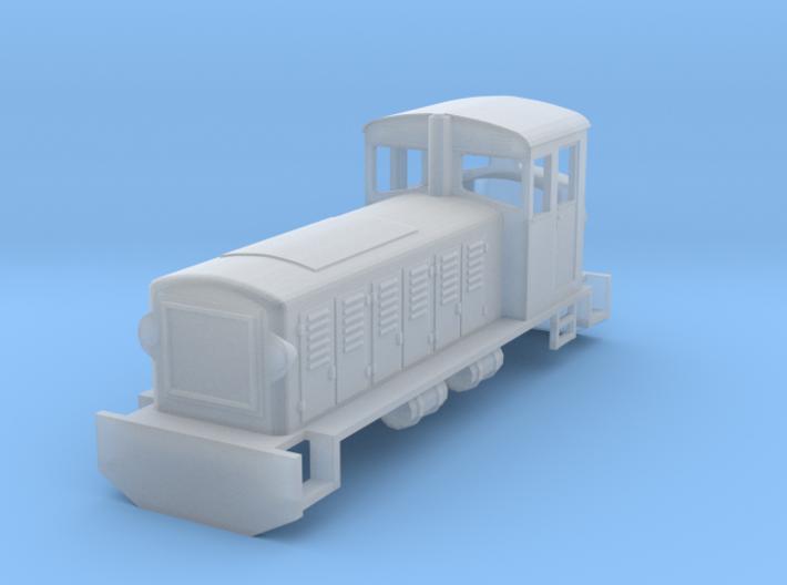 H0e Scale Hungarian Mk48 3d printed