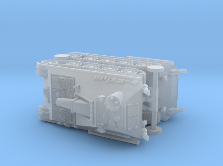 German Jagdpanther II Project 1/220 Z-Scale 3d printed