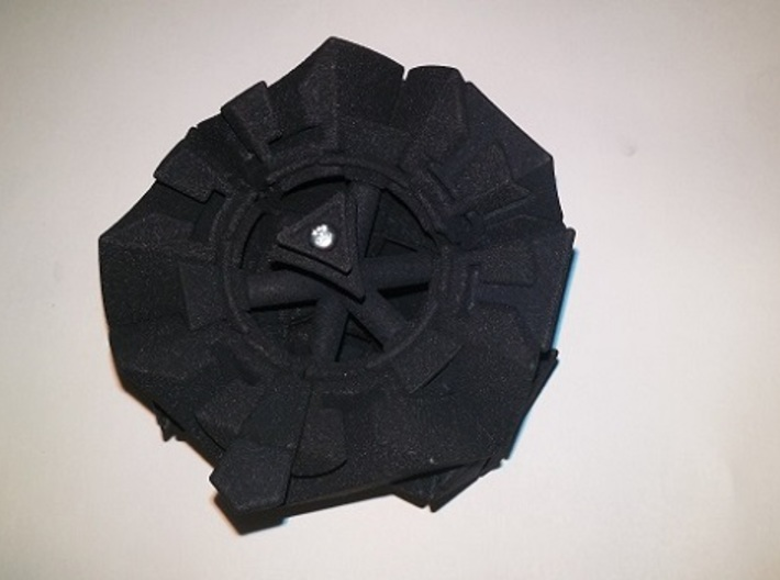 Rhombic Raptor 3d printed assembly