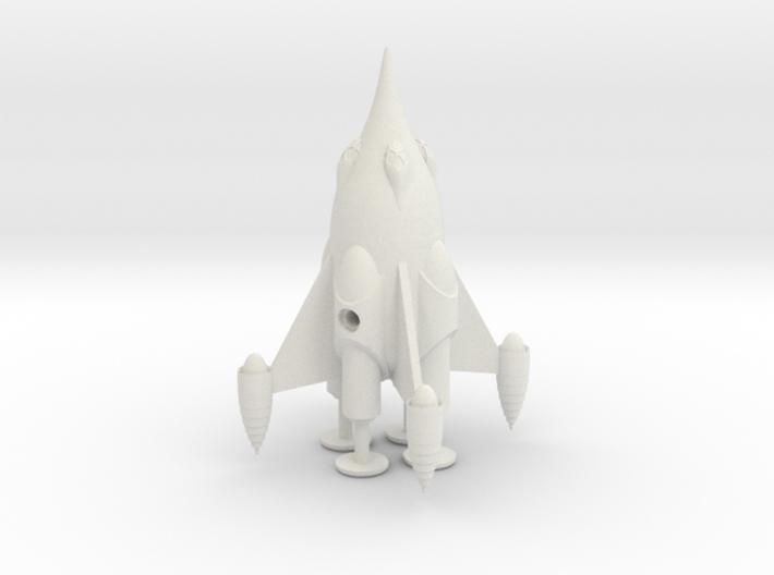 "R-Rocket ""Mars""-Class Small 3d printed"