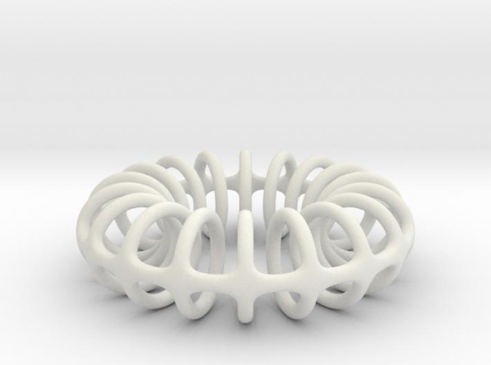 Ring-o-rings (2mm, simplified) 3d printed