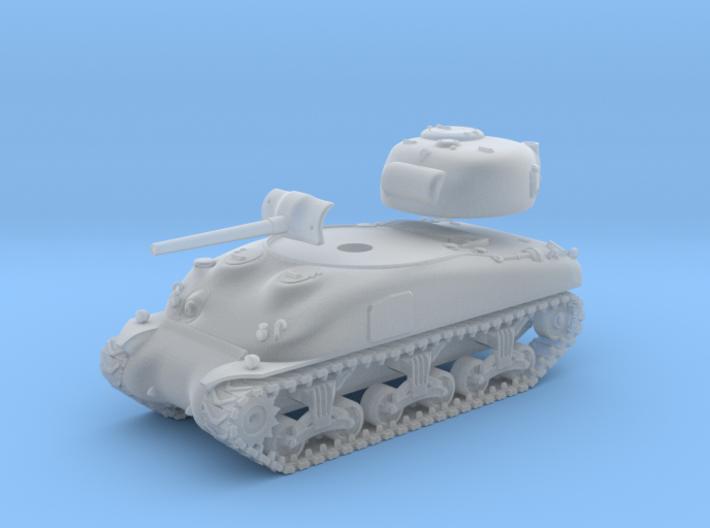 1/144 - SHERMAN M4A1 TANK 3d printed