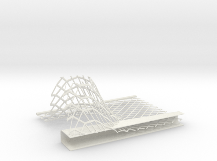 Car Factory Roof section 3d printed