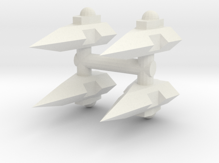 GDH:D001 Delta Series Assault Shuttle (Sprue x4) 3d printed