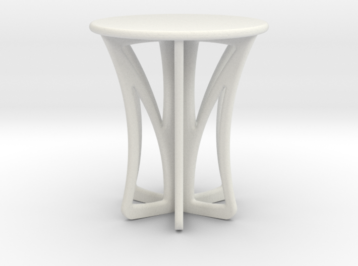 Rocking stool miniature 3d printed