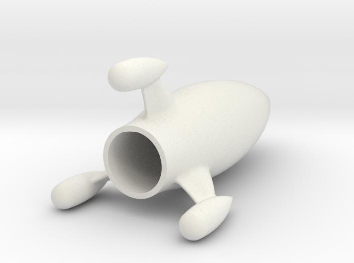Moon rocket 3d printed