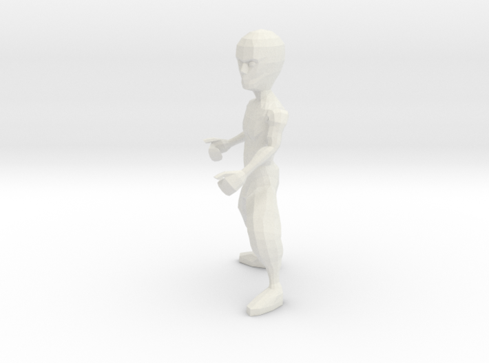 Kung Fu Dude 3d printed