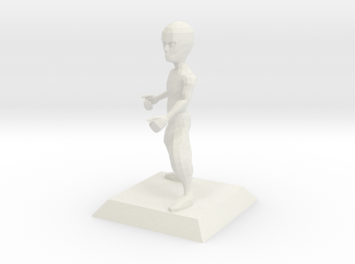 BRUCE character from Bruce Videogame 3d printed