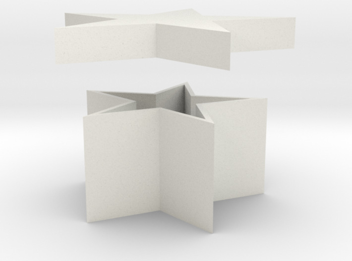 Star Shaped Box 3d printed
