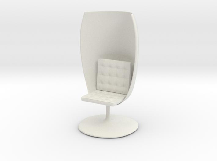 GlassChair_6cm 3d printed