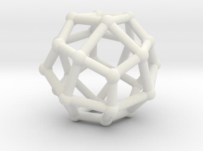 Deltoidal icositetrahedron 3d printed