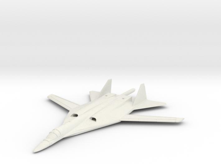 1/350 Russian PAK DA Bomber 3d printed