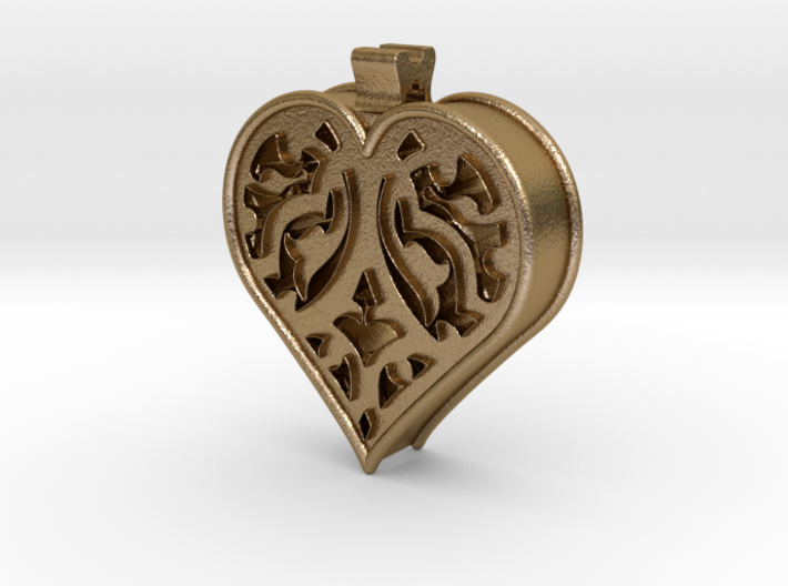 Window Heart 3d printed