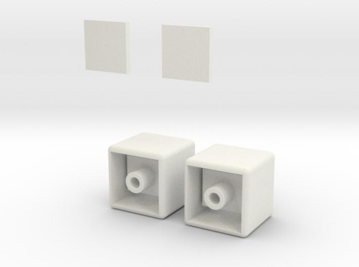 1x1x2 Rubiks Cube 3d printed