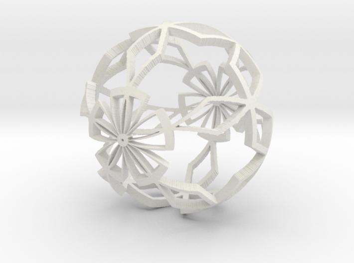Moroccan Ball 6 3d printed