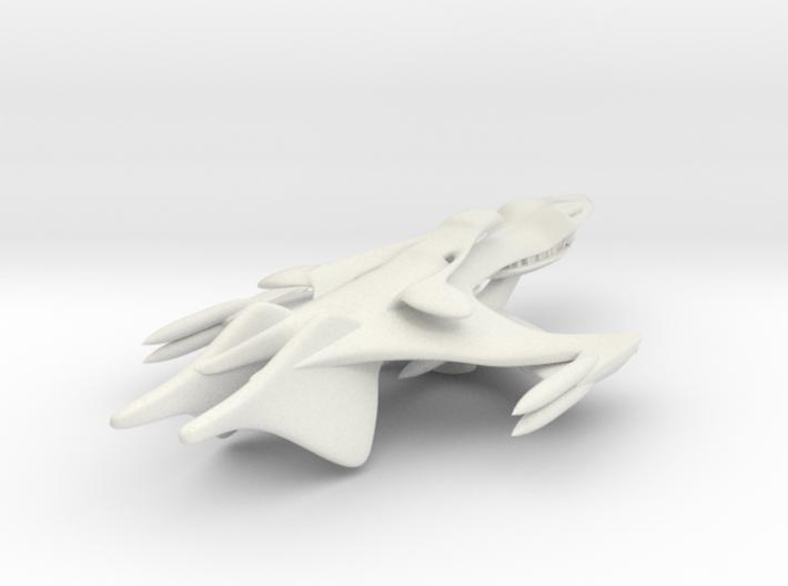 Whitestar Prototype 3d printed