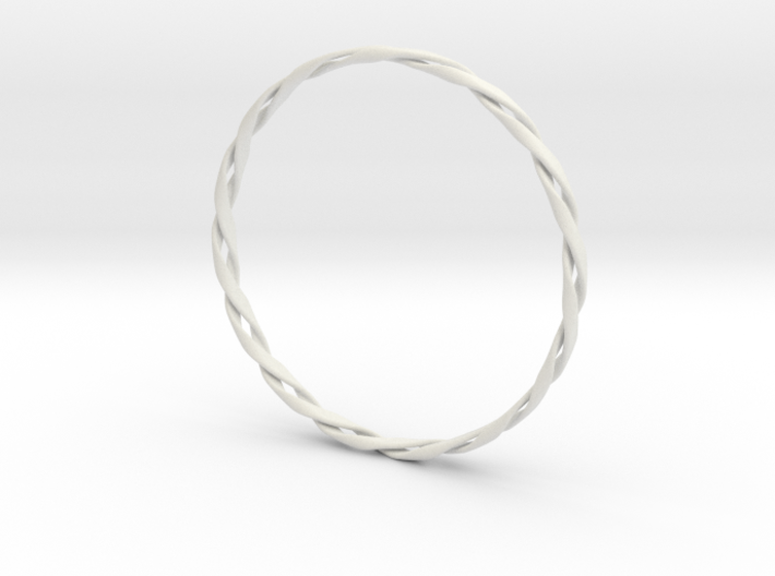 Twist Bangle 3d printed