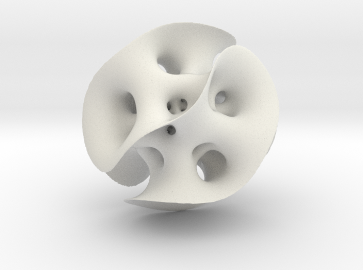 Inverted Gyroid 3d printed