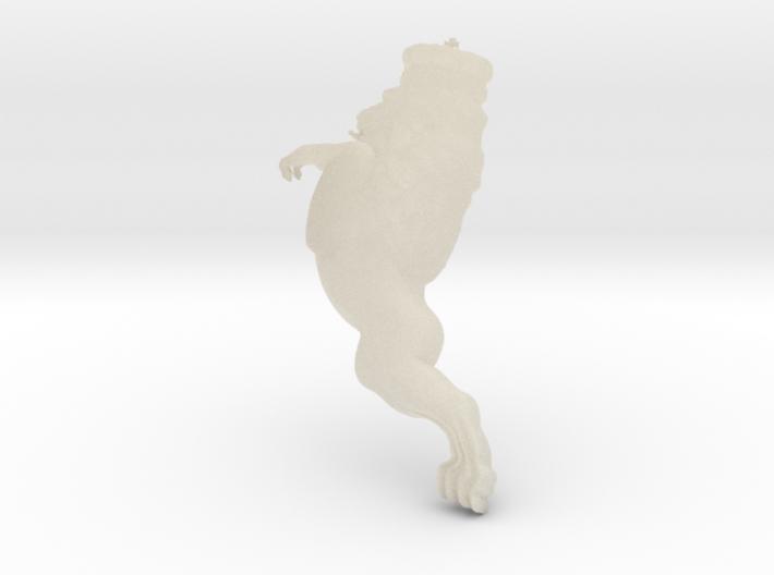 Lion figurehead 3d printed