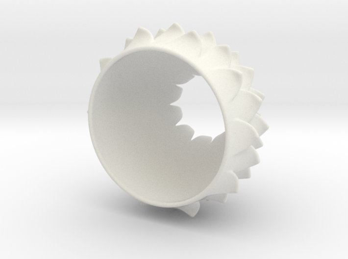 Thistle Tea Light Cover (thinner) 3d printed