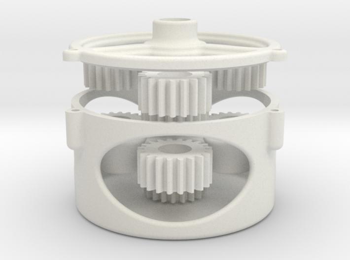 Updated Orbital Gear Box 3d printed