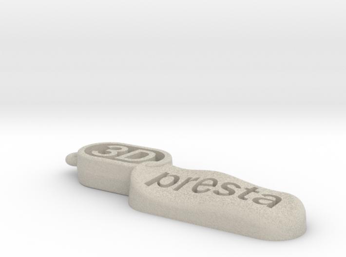 Porte_Clé_3Dpresta 3d printed