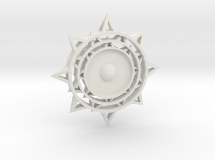 Sun Keychain m2 3d printed