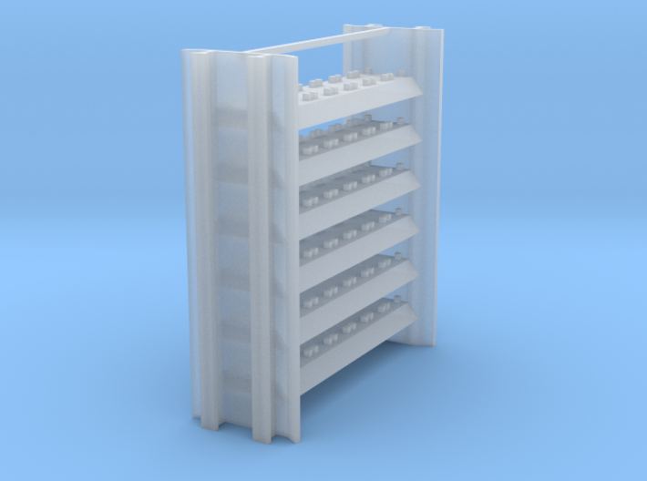 Intermediate Rail Rack for Rail Train 3d printed