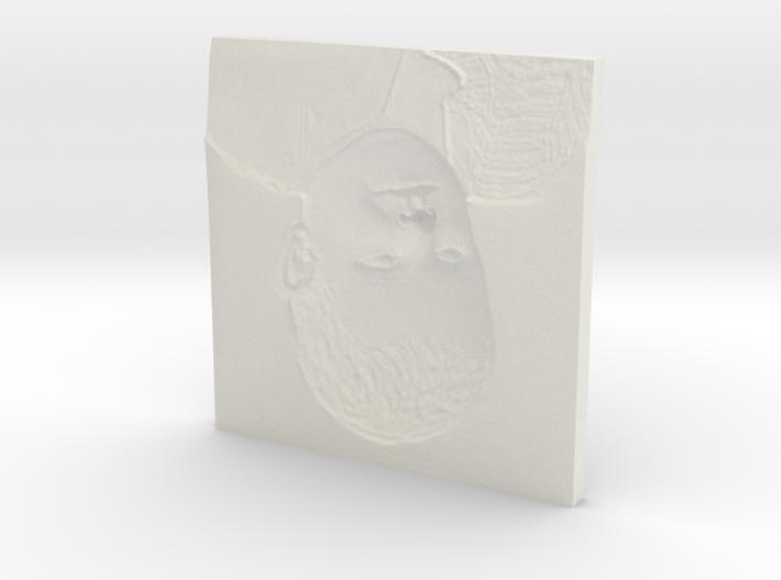 samuel_relieve2 3d printed