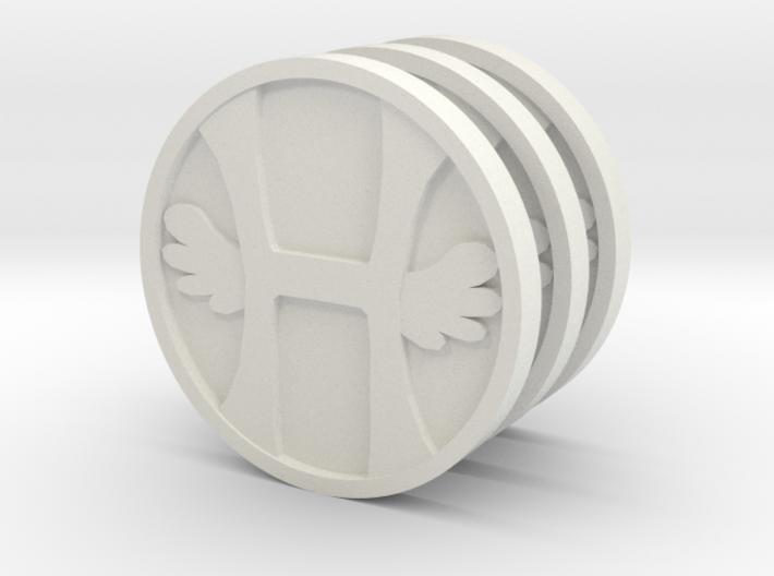 Three Heavens 3d printed