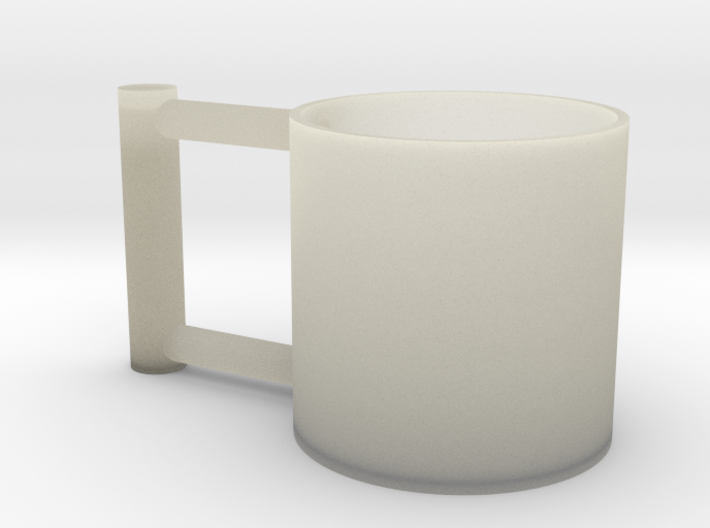 Greedy Cup V2 3d printed