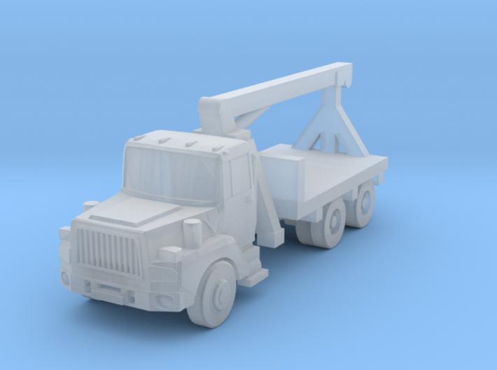 Mack Crane Truck - Z scale 3d printed